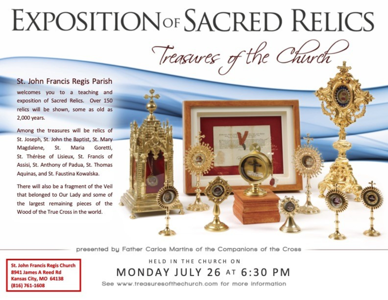 Exposition Of Sacred Relics