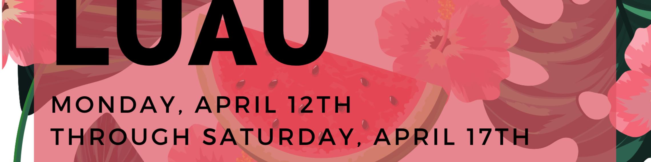 Luau Save The Date